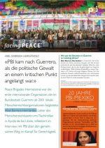 facing PEACE - September 2020