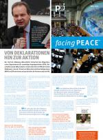 facing PEACE - April 2014